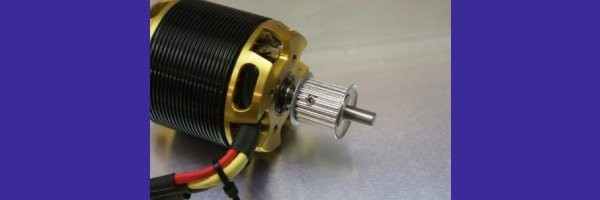 Driverpulley for screw fitting on 6mm Shaft