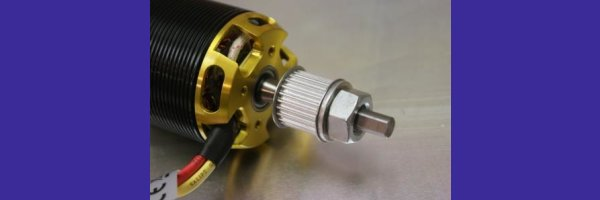 Driverpulley for clamping cone ( 4mm, 5mm, 6mm-Shaft)