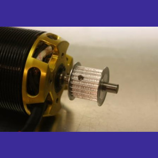 driver-/ enginepulley 6mm/ 22 teeth