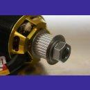 driver-/ enginepulley 24Z 8mm driveshaft