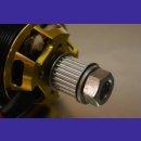driver-/ enginepulley 24Z 10mm driveshaft