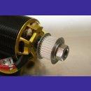 Zahnriemenrad 32Z 8mm Motorwelle