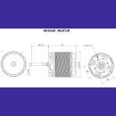 Kopie von SCORPION HK-4530-500KV 6mm Shaft (Limited Edition)